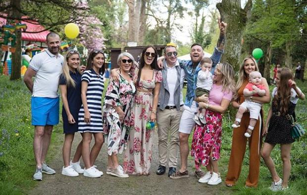Little Conor McGregor Jr's first birthday party. Picture: Instagram