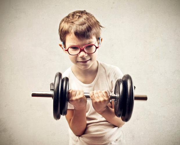 Problems can arise when youngsters attend the gym unsupervised