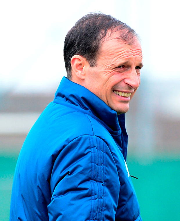 Massimiliano Allegri. Photo: Reuters