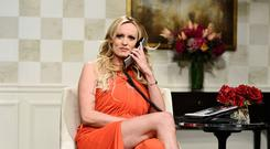 Porn actress Stormy Daniels on 'Saturday Night Live'. Photo: Will Heath/NBCUniversal Media