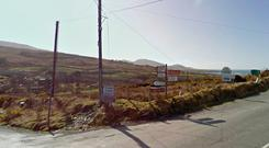The road to the West Cork town of Eyeries (Photo: Google Maps)