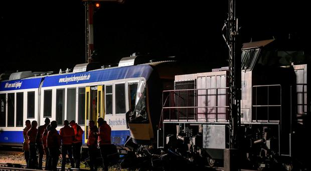 At least two dead in German train crash