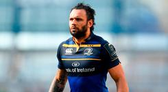Isa Nacewa twice turned down approaches from Clermont to stay loyal to Leinster. Photo by Ramsey Cardy/Sportsfile