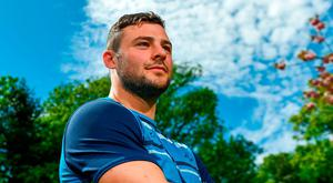 Leinster centre Robbie Henshaw has his sights set on more silverware. Photo by Ramsey Cardy/Sportsfile