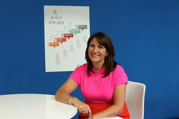 Joanne Hession, chief executive of the Entrepreneurs Academy and founder of LIFT
