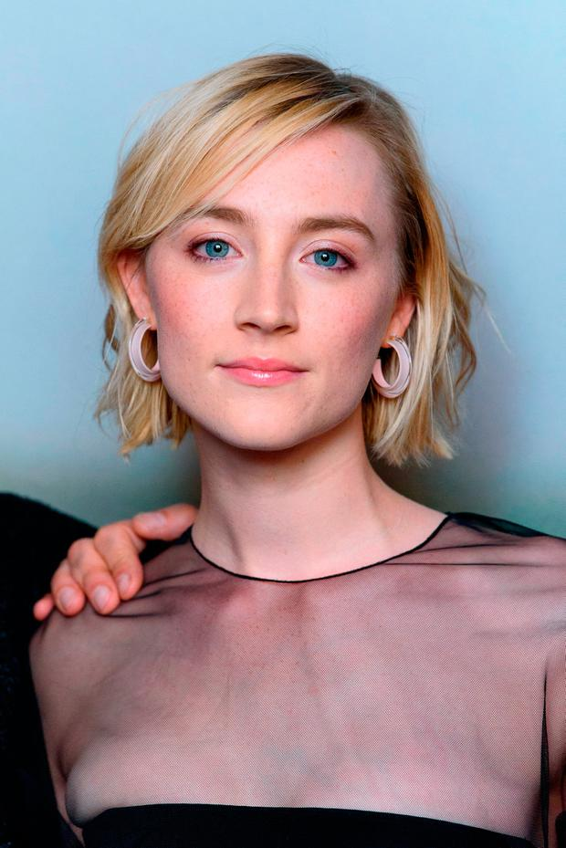Saoirse Ronan attends a special screening of 'On Chesil Beach' at The Curzon Mayfair on May 8, 2018 in London, England. (Photo by Joe Maher/Getty Images)