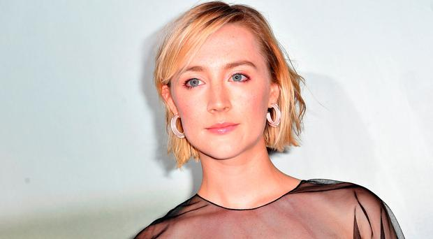 Saoirse Ronan attending a special screening of On Chesil Beach at the Curzon Mayfair, London