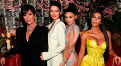 Kris Jenner, Model Kendall Jenner, Kylie Jenner, Kim Kardashian attends an intimate dinner hosted by The Business of Fashion to celebrate its latest special print edition 'The Age of Influence' at Peachy's/Chinese Tuxedo on May 8, 2018 in New York City. (Photo by Dimitrios Kambouris/Getty Images for The Business of Fashion)