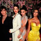 (L-R) Talent Manager, Jenner Communications, Kris Jenner, Model Kendall Jenner, Founder, Kylie Cosmetics Kylie Jenner, Founder, The Business of Fashion Imran Amed and Founder and CEO, KKW Kim Kardashian attends an intimate dinner hosted by The Business of Fashion to celebrate its latest special print edition 'The Age of Influence' at Peachy's/Chinese Tuxedo on May 8, 2018 in New York City. (Photo by Dimitrios Kambouris/Getty Images for The Business of Fashion)
