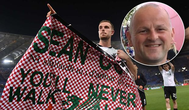 Sean Cox (inset) remains in a critical condition