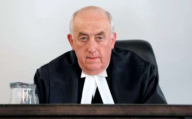 Criticism: Mr Justice Peter Kelly, president of the High Court. Photo: Frank McGrath