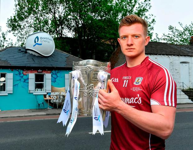 Joe Canning at the Bord Gáis All-Ireland Hurling Championship sponsorship launch. Photo: Brendan Moran/Sportsfile