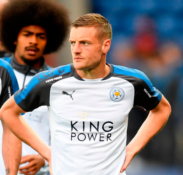 Vardy: Thorn in Arsenal's side. Photo: Getty