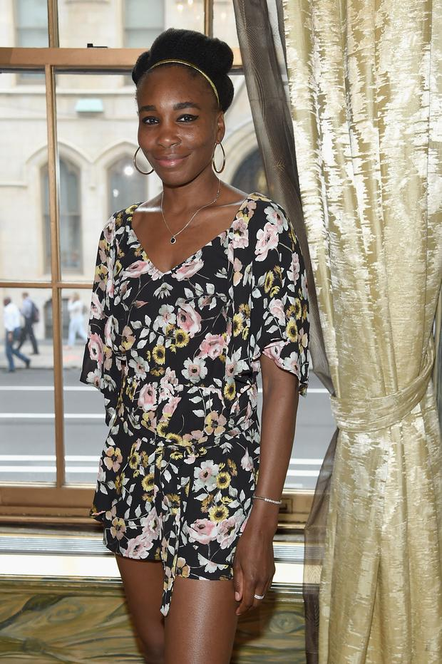 Professional tennis player Venus Williams attends the 2017 Lotte New York Palace Invitational at Lotte New York Palace on August 24, 2017 in New York City. (Photo by Jamie McCarthy/Getty Images for LOTTE New York Palace)