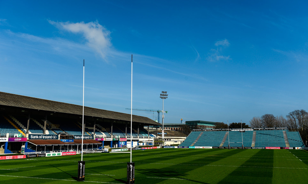 A general view of the RDS Arena