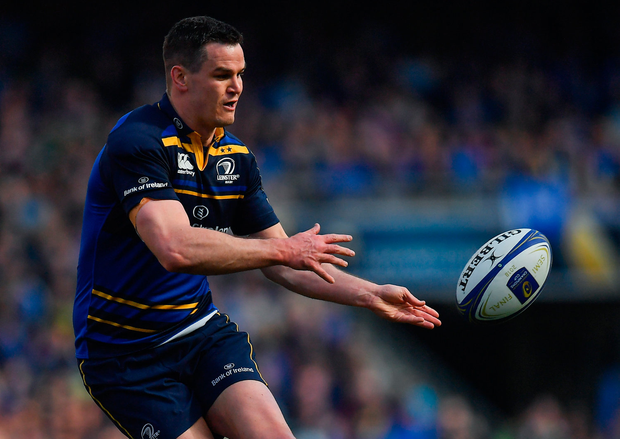 Johnny Sexton is the crucial figure for Leinster. Photo by Brendan Moran/Sportsfile