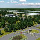 An artist's impression of the ambitious €850m Apple data centre that had been planned for Athenry, Co Galway