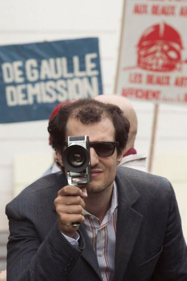 Life through a lens: Louis Garrel as Jean Luc Goddard in Michel Hazanavicius' biopic, Redoubtable