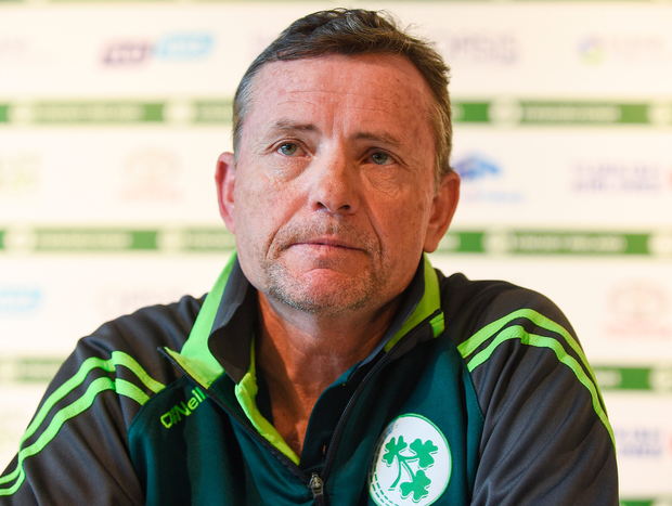 Ireland coach Graham Ford. Photo: Sportsfile