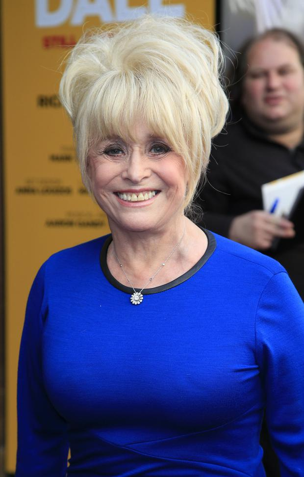 Dame Barbara Windsor's husband has revealed the actress is struggling to remember they are married due to Alzheimer's (Jonathan Brady/PA)
