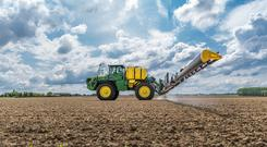 The John Deere R4050i sprayer
