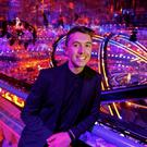 Ryan O'Shaughnessy at the Altice Arena for the Eurovision second semi-final last night. PIC: Andres Poveda