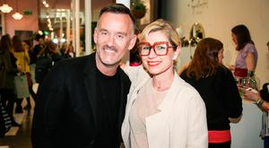 Brendan Courtney and Sonya Lennon at Fashion is Repealing