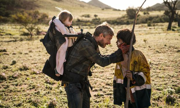 Martin Freeman seeks refuge from a plague of zombies in 'Cargo'