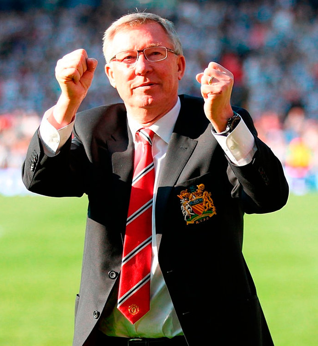 Alex Ferguson is a winner to his very corerich. Photo: Mike Egerton/PA