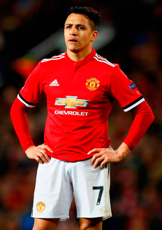 Manchester United's Alexis Sanchez. Photo: Jason Cairnduff/Reuters