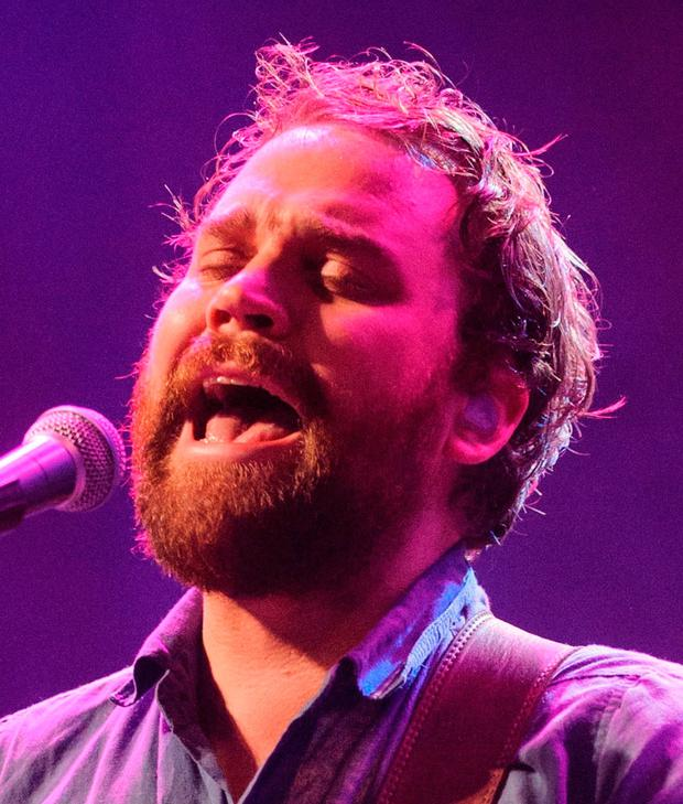 Tragic Frightened Rabbit singer Scott Hutchison. Photo: Dominic Lipinski/PA
