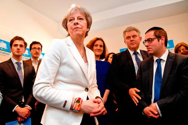 British Prime Minister Theresa May Picture: Toby Melville/PA Wire