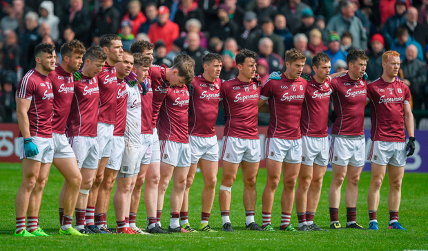 'Galway play now with an almost insane work rate. ' Photo by Ray McManus/Sportsfile