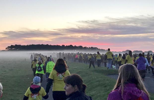 Huge numbers expected in Salthill for Darkness into Light