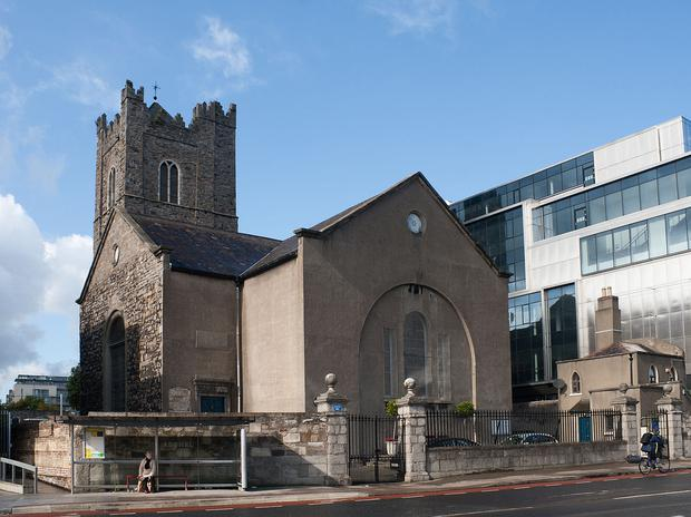 The body of a woman was discovered at St Michan's Church in Dublin 7. Pic: Google Maps