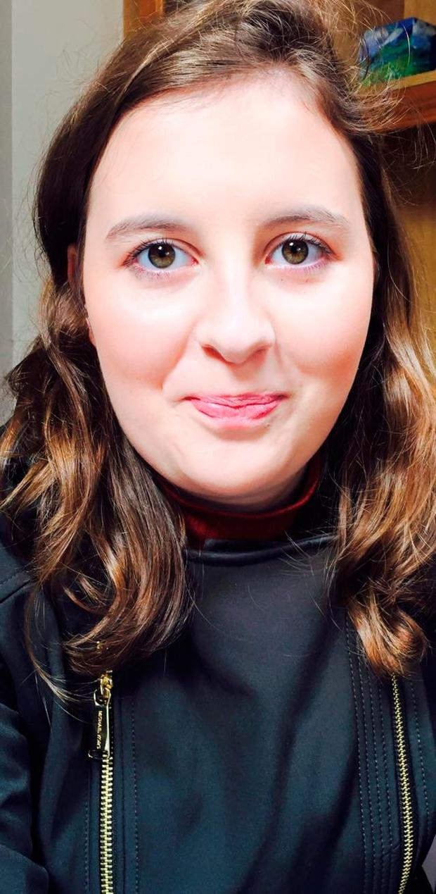 Student with ambition: Niamh Biddulph