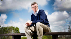 SOLIDLY UPBEAT: Economist Dr Alan Ahearne. Photo: Andrew Downes