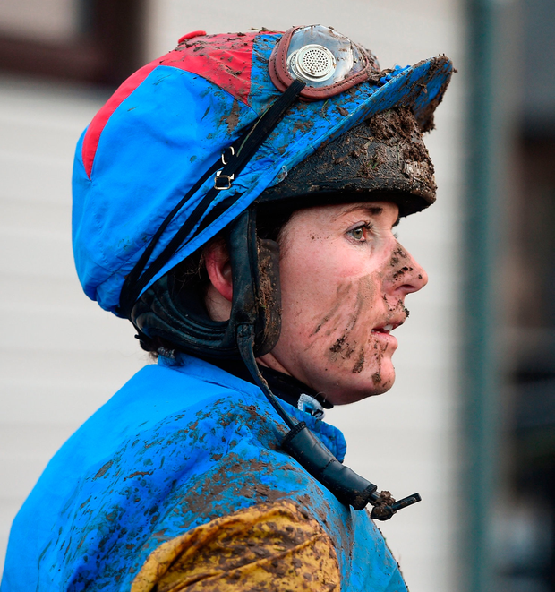 Recently retired jockey Katie Walsh. Photo: Cody Glenn/Sportsfile