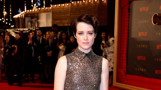 Claire Foy starred in The Crown (Ian West/PA)