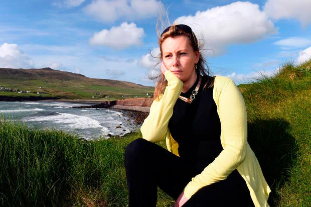 CERVICAL CHECK SCANDAL: Terminally ill Emma Mhic Mhathuna, pictured near her home in Ballydavid in West Kerry, last Thursday. Photo: Don MacMonagle