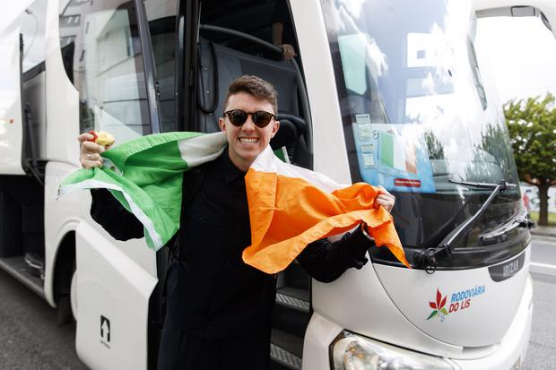 Ireland is now one of the favourites to win the Eurovision tonight