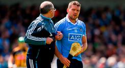Conal Keaney was a huge loss for Dublin when he went off injured. Photo: Daire Brennan/Sportsfile