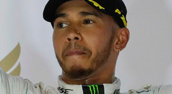 Lewis Hamilton. Photo: AP