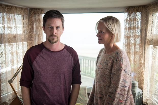 Innocent - Lee Ingleby as David Collins and Hermione Norris as Alice. PHOTO: Steffan Hill