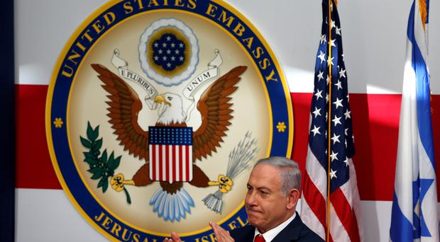 'A great day for Jerusalem' - Israeli Prime Minister Benjamin Netanyahu welcomes new US embassy