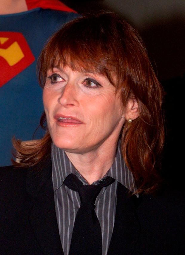 Actress Margot Kidder, appears at the Superman movie reunion at the Warner Bros. museum in Burbank, California, U.S., May 1, 2001. Kidder portrayed Lois Lane in the film which also starred Christopher Reeve as Superman. REUTERS/Fred Prouser/File Photo
