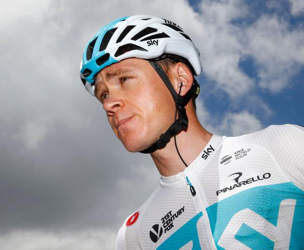 Chris Froome. Photo: Luk Benies/AFP/Getty Images