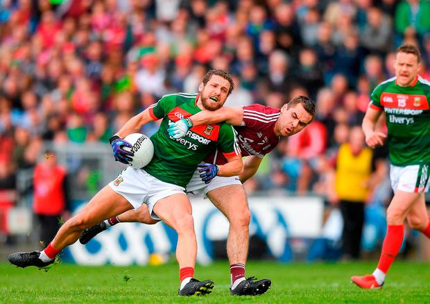 Few might fully appreciate the true loss a player like Parsons is to this Mayo team. Photo: Eóin Noonan/Sportsfile