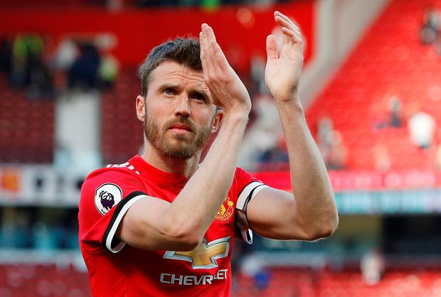 Carrick makes immediate switch to coaching role at Man Utd