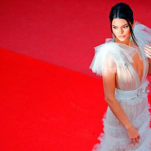 Red Carpet Arrivals - Cannes, France, May 12, 2018. Kendall Jenner poses. REUTERS/Stephane Mahe